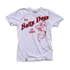 The Salty Dogs: Organic Fine Jersey Cotton Short Sleeve T-Shirt