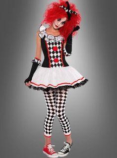 Harlekin Clownfrau 36