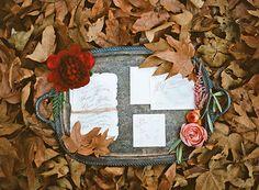 Soft pink fall wedding inspiration | Photo by Morgan Lamkin Photography | Read more - http://www.100layercake.com/blog/?p=82205