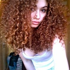 She has curls like mine.