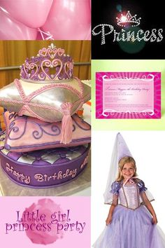Cute Ideas for Princess Parties