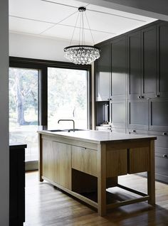 Long Lane by Templeton Architecture. Photo by Sharyn Cairns Kitchen Dinning, Kitchen And Bath, Contempory Kitchen, Kitchen Interior, Kitchen Design, Kitchen Showroom, Small Bathroom Renovations, Bathroom Ideas, Kitchen Remodeling