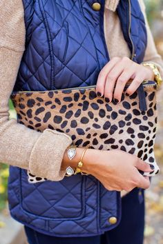 Mixed colors with leopard