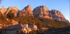 Papigko Village - hike to Drakolimini starts from this village - it's also probably the most celebrated village in all of the region of Epirus...