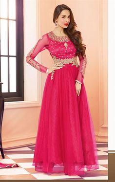 Picture of Mystical Rani Pink Bollywood Salwar Kameez