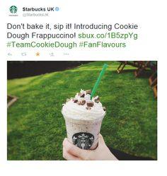 Great Twitter post from Starbucks in London / Sympathique post Twitter de Starbucks à Londres https://twitter.com/StarbucksUK/status/610340980777029632