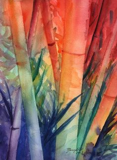 Chinese Bamboo Painting 2702008 X 27 X 27 . Aquarelle Painting At PaintingValley Com Explore . Silk Painting Brushes Sumi E Brushes Hake Brushes . Arches Watercolor Paper, Watercolor Cards, Watercolor Paintings, Watercolor Leaves, Watercolour, Bamboo Landscape, Bamboo Art, Japanese Bamboo, Cool House Designs