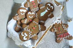 Receta: Galletas de jengibre (Gingerbread man cookies)