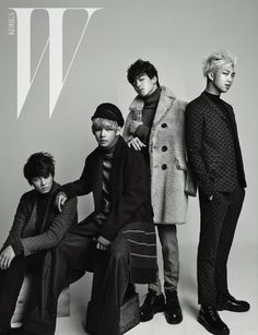 Bangtan Boys (BTS)'s Jung Kook, & Rap Monster W Korea Magazine December 2014