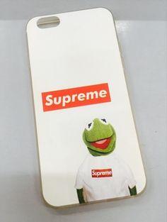 iPhone7 plus ケース シュプリーム 薄い 可愛い カーミット カエル