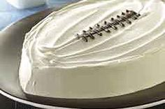 Are you ready for some FOOTBALL?! I would use Community coffee I believe.... Have to stay true to my roots :)  1 pkg. (2-layer size) chocolate cake mix brewed strong MAXWELL HOUSE Coffee, cooled 3 cups Cappuccino Pudding Frosting