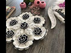 Bargello Patterns, Weaving Patterns, Crochet Patterns, Crochet Bedspread, Crochet Doilies, Crochet Flowers, Laddu Gopal, Crochet Videos, Crochet Home
