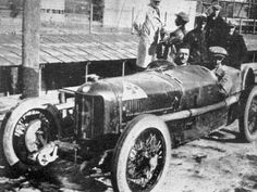 GP France 1924 at Lyon , Enzo Ferrari retired with Alfa Romeo P2 #19 , Ferrari was ill on the day of the race.