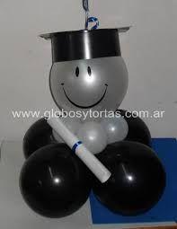 Resultado de imagen para decoracion en globos para graduacion