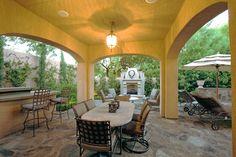 Backyard Covered Patios, Outdoor Life, Outdoor Decor, House Design, Interior Design, Patio Ideas, Google Search, Home Decor, Design Interiors