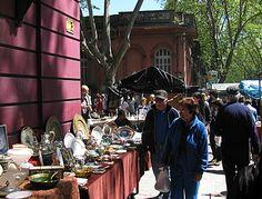 Feria Tristán Narvaja no Domingo pela manhã