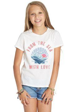 Main Image - Billabong From the Sea Graphic Tee (Little Girls & Big Girls)