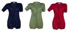 Reiff wol/zijde dames vest, marine