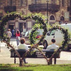 Giardini Lamarmora - panchina crea amori ❤️
