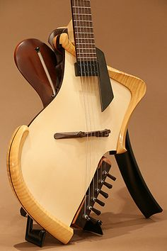 Michihiro Matsuda Guitars[ミチヒロ・マツダギターズ] Matsuda Headless Arched Top  Acoustic Electric Guitar