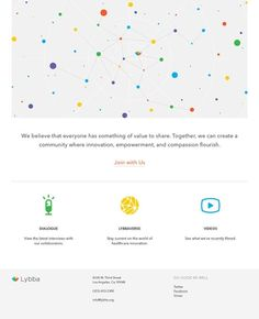 Design Work Life » Outpost: Lybba Identity and Web Design — Designspiration