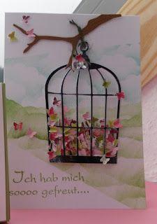 bird cage butterflies - bjl