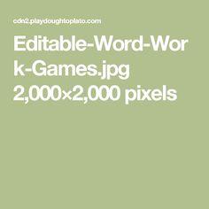 Editable-Word-Work-Games.jpg 2,000×2,000 pixels