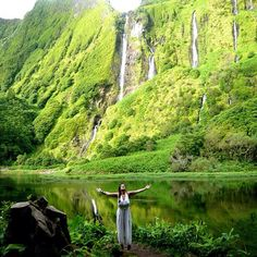Flores Island #theAzores, Portugal - magical the power of nature! #PortugalFlowerPower