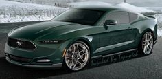 2015 Ford Mustang Rendering - Strong Rumor: 2015 Mustang to Get 310 HP, 34 MPG 2.3 Liter EcoBoost - StangTV
