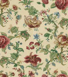 Waverly Home Decor Fabric Montague Parchment