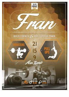 Fran WOD #benchmark #girls