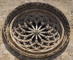 Rose window, Palermo. You can picture this swirling shut.