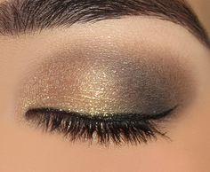 o clássico marrom com dourado é a combinação perfeita para você usar sem medo! http://vilamulher.terra.com.br/tons-marrons-na-maquiagem-2-1-14-1251.html Foto: nerdy girl makeup