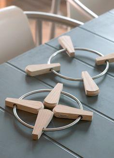 Skagerak Fiona bordskåner foldbar