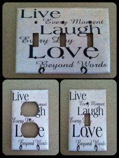 Live Laugh Love Home Decor
