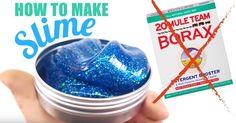 How To Make Slime (Non Borax Method)