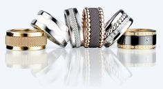 Bering Arctic Symphony ringen; compose your own set of rings!