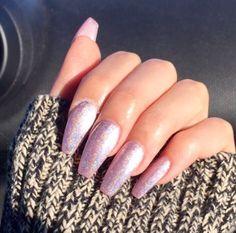 Glitter nails Pinterest: @JENNY