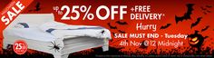#HalloweenSale is still there!! #ShopOnline for wooden sleigh beds at great discounts. You will get upto 25% Off + Free Delivery
