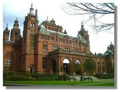 Glasgow Museum and Art Gallery at Kelvingrove.  I used to walk here  when I was about 12 or 13.