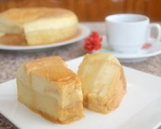 Creme caramel cake - splits into a cake and a pudding while cooking!