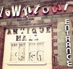 Antique mall #downtown #nashville #shopping