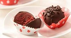 Red Velvet Raspberry Truffles: Surprise your Valentine with a beribboned box of homemade red velvet chocolate truffles with luscious raspberry flavor.
