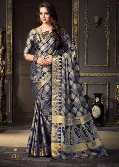 Art silk weaving saree 4278BK2311 @1195.00 #silksaree #parttywearsaree #designersaree #silksareecollection #weavingwork #wholesalepricesaree