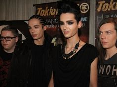 tokio hotel: gustav, tom, bill, & georg