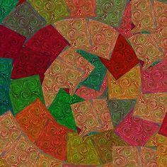 Tiles Exotic Metal Sparkle Digital Graphic Interior Hotel Resort Lasvegas Navinjoshi Artist Created