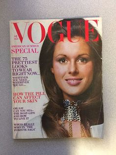 vintage Vogue Magazine May 1970 Pilar Crespi Bert Stern fashion