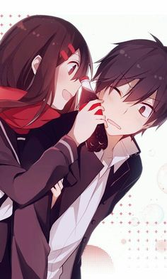 1000 ideas about anime couples on pinterest kagerou project cute anime couples and manga couple. Black Bedroom Furniture Sets. Home Design Ideas