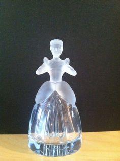 Disney Crystal  Cinderella Vintage Perfume by VintageVientos, $70.00