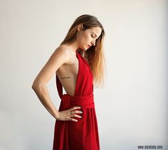 DIY Infinity Dress - FREE Sewing Pattern and Tutorial Sewing Patterns Free, Dress Patterns, Free Sewing, Hand Sewing, Diy Fashion, Ideias Fashion, Fashion Outfits, Vestido Convertible, Dress Sewing Tutorials